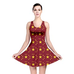 Chinese New Year Pattern Reversible Skater Dress