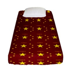 Chinese New Year Pattern Fitted Sheet (Single Size)
