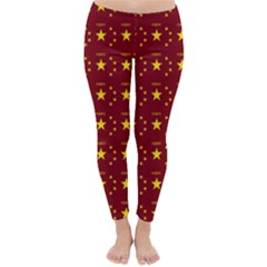Chinese New Year Pattern Classic Winter Leggings