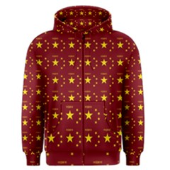 Chinese New Year Pattern Men s Zipper Hoodie