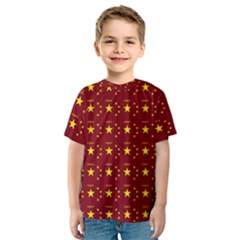 Chinese New Year Pattern Kids  Sport Mesh Tee