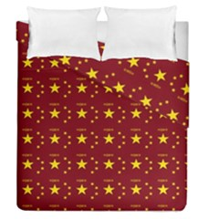 Chinese New Year Pattern Duvet Cover Double Side (Queen Size)
