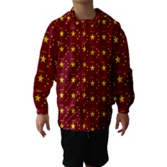 Chinese New Year Pattern Hooded Wind Breaker (Kids)
