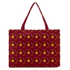 Chinese New Year Pattern Medium Zipper Tote Bag
