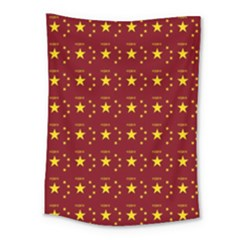 Chinese New Year Pattern Medium Tapestry