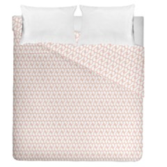 Rose Gold Line Duvet Cover Double Side (queen Size)