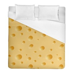 Seamless Cheese Pattern Duvet Cover (full/ Double Size) by Jojostore