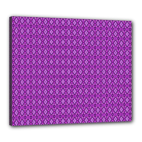 Surface Purple Patterns Lines Circle Canvas 24  X 20  by Jojostore