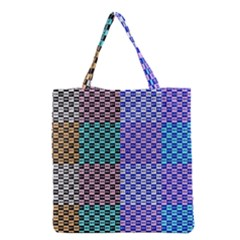 Alphabet Number Grocery Tote Bag