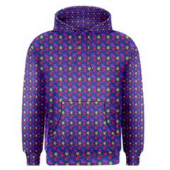 Beach Blue High Quality Seamless Pattern Purple Red Yrllow Flower Floral Men s Pullover Hoodie