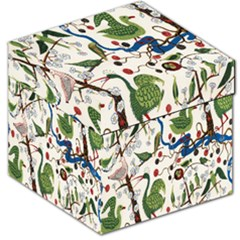 Bird Green Swan Storage Stool 12