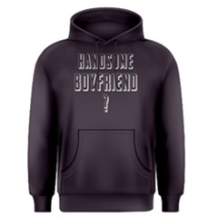 Handsome Boyfriend   Men s Pullover Hoodie by FunnySaying