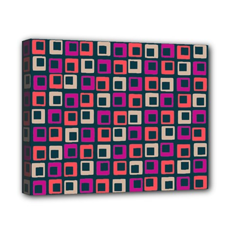 Abstract Squares Canvas 10  X 8  by Jojostore