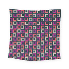 Abstract Squares Square Tapestry (small)