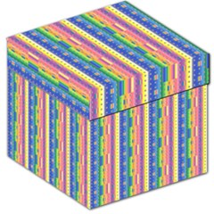 Psychedelic Carpet Storage Stool 12