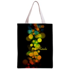 Bokeh Colorful  Classic Tote Bag