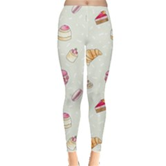 Cute Cakes Leggings  by Brittlevirginclothing