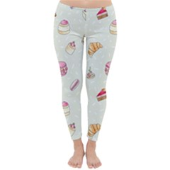 Cute Cakes Classic Winter Leggings by Brittlevirginclothing