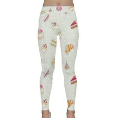 Cute Cakes Classic Yoga Leggings by Brittlevirginclothing