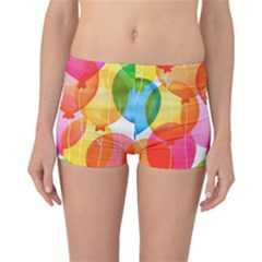 Rainbow Balloon Reversible Bikini Bottoms by Brittlevirginclothing
