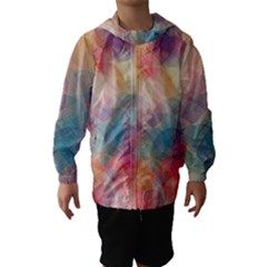 Colorful Light Hooded Wind Breaker (kids) by Brittlevirginclothing