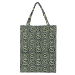 Money Symbol Ornament Classic Tote Bag