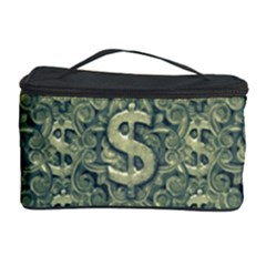 Money Symbol Ornament Cosmetic Storage Case by dflcprintsclothing