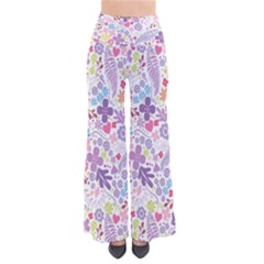 Colorful Flower Pants by Brittlevirginclothing