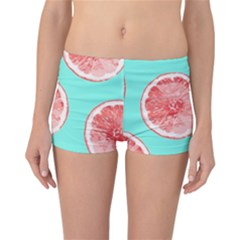 Cute Pink Lemon Reversible Bikini Bottoms by Brittlevirginclothing