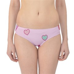 Cute Candy Hipster Bikini Bottoms by Brittlevirginclothing