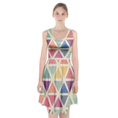 Colorful Triangle Racerback Midi Dress by Brittlevirginclothing