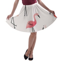Cute A-line Skater Skirt by Brittlevirginclothing