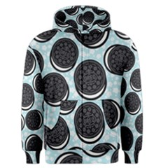 Cute Oreo Men s Zipper Hoodie by Brittlevirginclothing