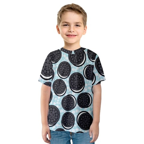 Cute Oreo Kids  Sport Mesh Tee by Brittlevirginclothing