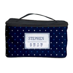 Your Name Cosmetic Storage Case by daydreamer