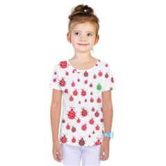 Beetle Animals Red Green Fly Kids  One Piece Tee by Amaryn4rt