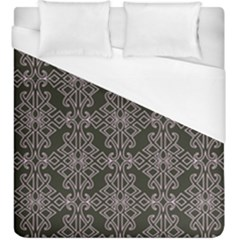 Line Geometry Pattern Geometric Duvet Cover (king Size) by Amaryn4rt
