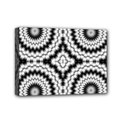 Pattern Tile Seamless Design Mini Canvas 7  X 5  by Amaryn4rt
