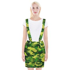 Marijuana Camouflage Cannabis Drug Suspender Skirt