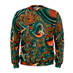 Painted Fractal Men s Sweatshirt by Fractalworld