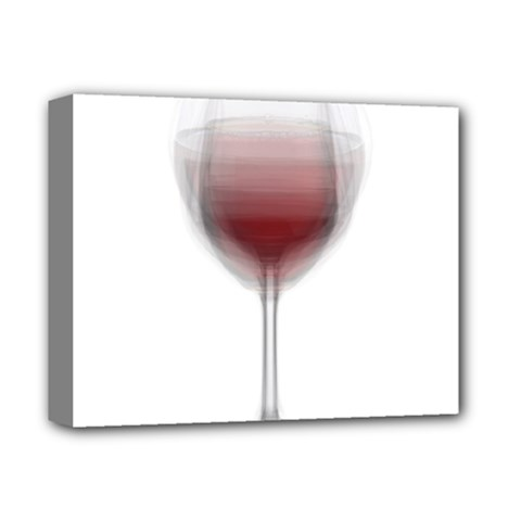 Wine Glass Steve Socha Deluxe Canvas 14  X 11  by WineGlassOverlay