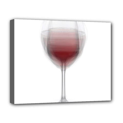 Wine Glass Steve Socha Deluxe Canvas 20  X 16   by WineGlassOverlay