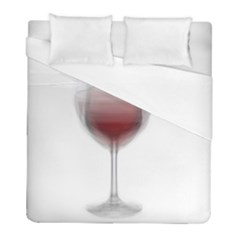 Wine Glass Steve Socha Duvet Cover (full/ Double Size) by WineGlassOverlay