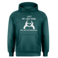 Green I Love My Girlfriend Imagination Men s Pullover Hoodie by FunnySaying