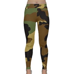 Army Camouflage Classic Yoga Leggings