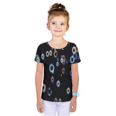 Bubble Light Black Kids  One Piece Tee