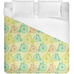 Wheel Bike Round Sport Color Yellow Blue Green Red Pink Duvet Cover (king Size) by Jojostore