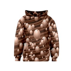 Choco Bubbles Kids  Pullover Hoodie