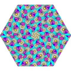Bunga Matahari Serangga Flower Floral Animals Purple Yellow Blue Pink Mini Folding Umbrellas by Jojostore