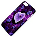 Hearts On Snake Pattern Purple Pink Love Apple iPhone 5 Classic Hardshell Case View4